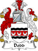 English Coat of Arms for Dod (d)