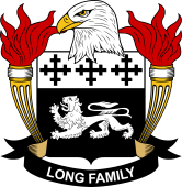 American Coat of Arms for Long