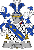 Irish Coat of Arms for Petty