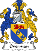 English Coat of Arms for Overman