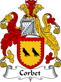 Scottish Coat of Arms for Corbet