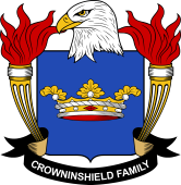 American Coat of Arms for Crowninshield