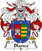 Spanish Coat of Arms for Blanco