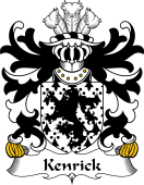 Welsh Coat of Arms for Kenrick (of Acton Burnell and Owre, Shropshire)