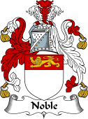 English Coat of Arms for Noble
