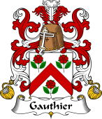 Coat of Arms from France for Gauthier