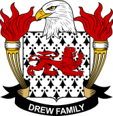 American Coat of Arms for Drew