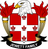 American Coat of Arms for Jewett