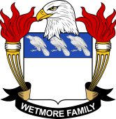 American Coat of Arms for Wetmore