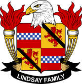 American Coat of Arms for Lindsay