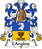 Coat of Arms from France for Anglois (l')
