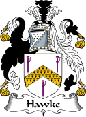 English Coat of Arms for Hawke