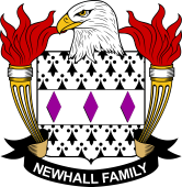 American Coat of Arms for Newhall