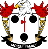 American Coat of Arms for Morse