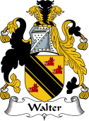 English Coat of Arms for Walter
