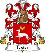 Coat of Arms from France for Texier