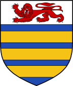 English Family Shield for Oxford