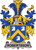 Swedish Coat of Arms for Robertsson
