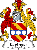 English Coat of Arms for Copinger