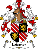German Wappen Coat of Arms for Leistner