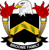American Coat of Arms for Broome