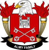 American Coat of Arms for Almy