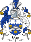 English Coat of Arms for Mee