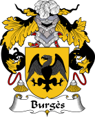 Spanish Coat of Arms for Burgès
