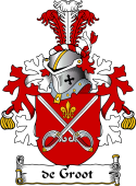 Dutch Coat of Arms for de Groot