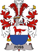 Danish Coat of Arms for Foss