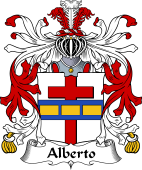 Italian Coat of Arms for Alberto