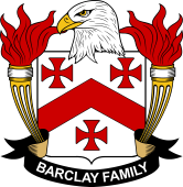 American Coat of Arms for Barclay