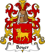 Coat of Arms from France for Boyer