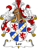 German Wappen Coat of Arms for Leo