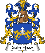 Coat of Arms from France for Saint-Jean