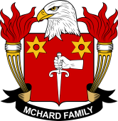 American Coat of Arms for McHard