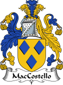 Irish Coat of Arms for MacCostello