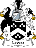 English Coat of Arms for Lewes
