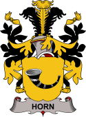 Swedish Coat of Arms for Horn