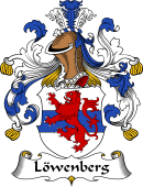 German Wappen Coat of Arms for Löwenberg