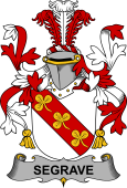 Irish Coat of Arms for Segrave