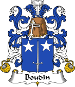 Coat of Arms from France for Boudin