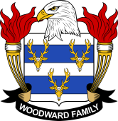 American Coat of Arms for Woodward