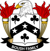 American Coat of Arms for Boush