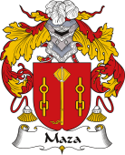 Spanish Coat of Arms for Maza
