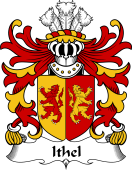 Welsh Coat of Arms for Ithel (ANWYL, Ap Bleddyn )