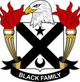 American Coat of Arms for Black