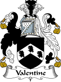 English Coat of Arms for Valentine