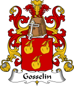 Coat of Arms from France for Gosselin