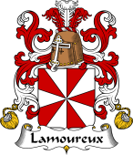 Coat of Arms from France for Lamoureux